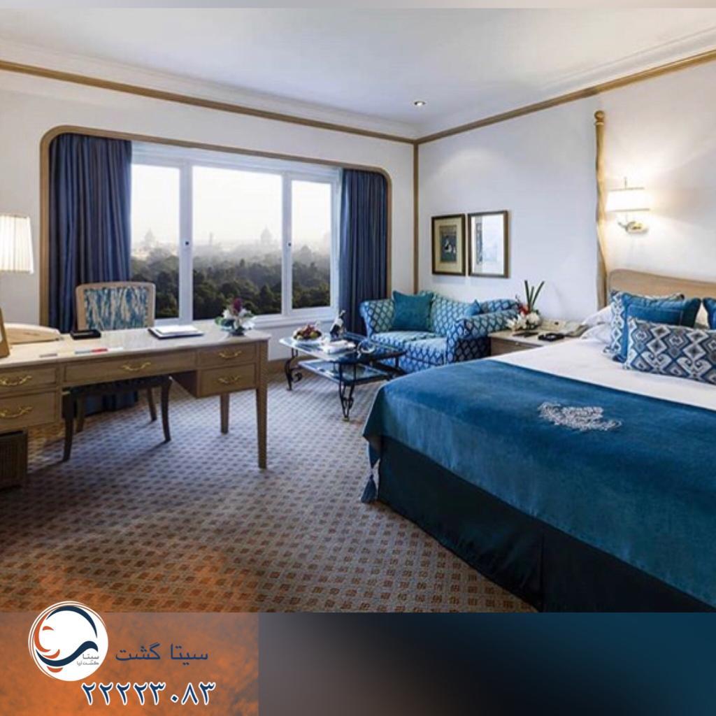 هتل تاج محل-بمبیی اتاق خواب