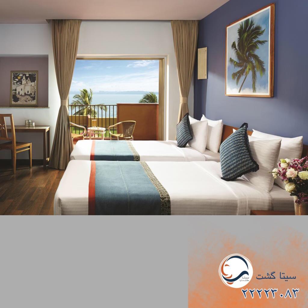 هتل سیداده گوا اتاق خواب