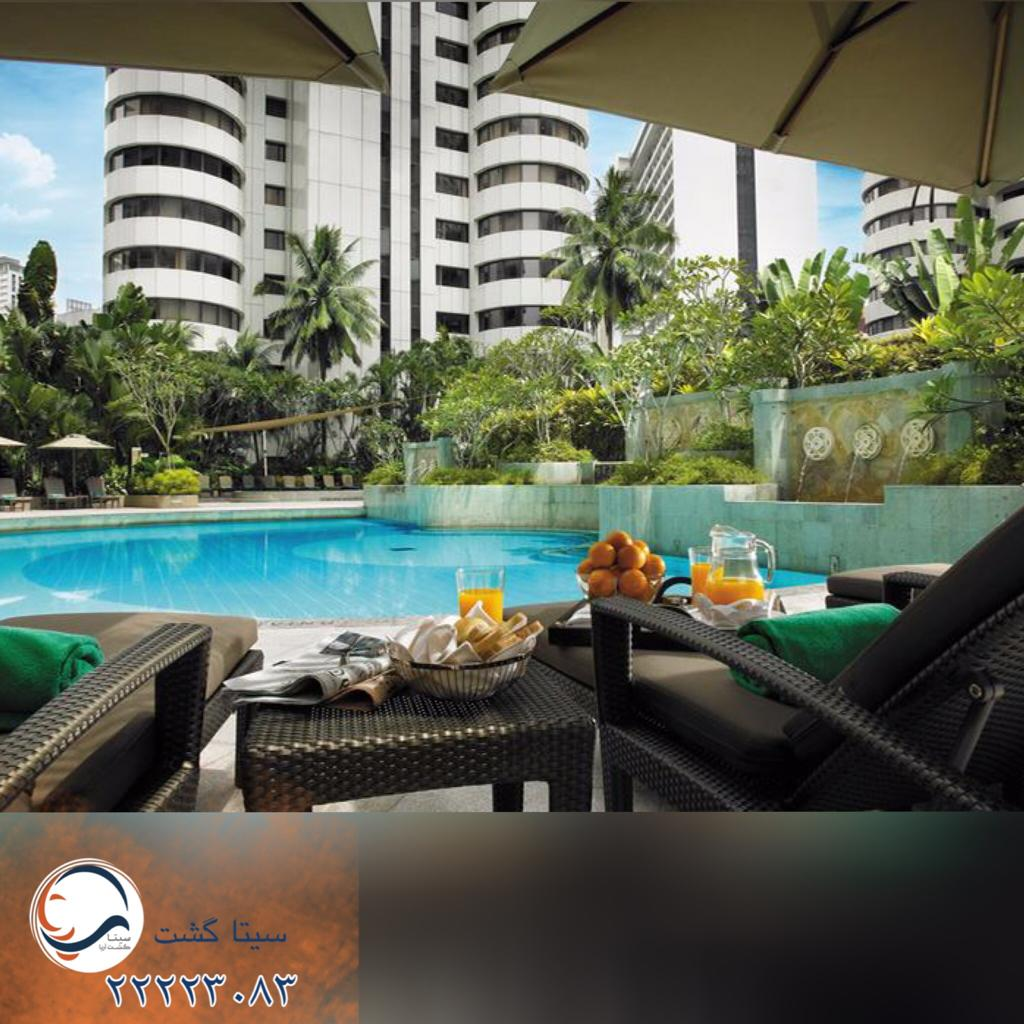 هتل شانگریلا کوالالامپور-استخر