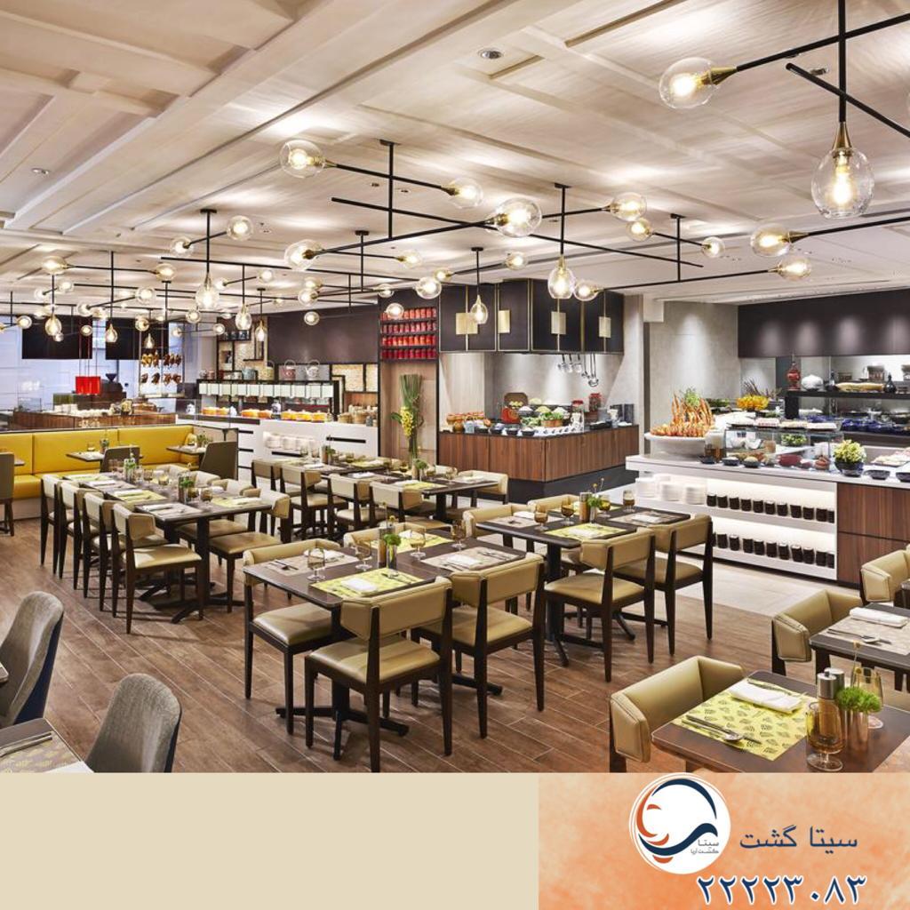 هتل شانگریلا کوالالامپور-رستوران سلف سرویس