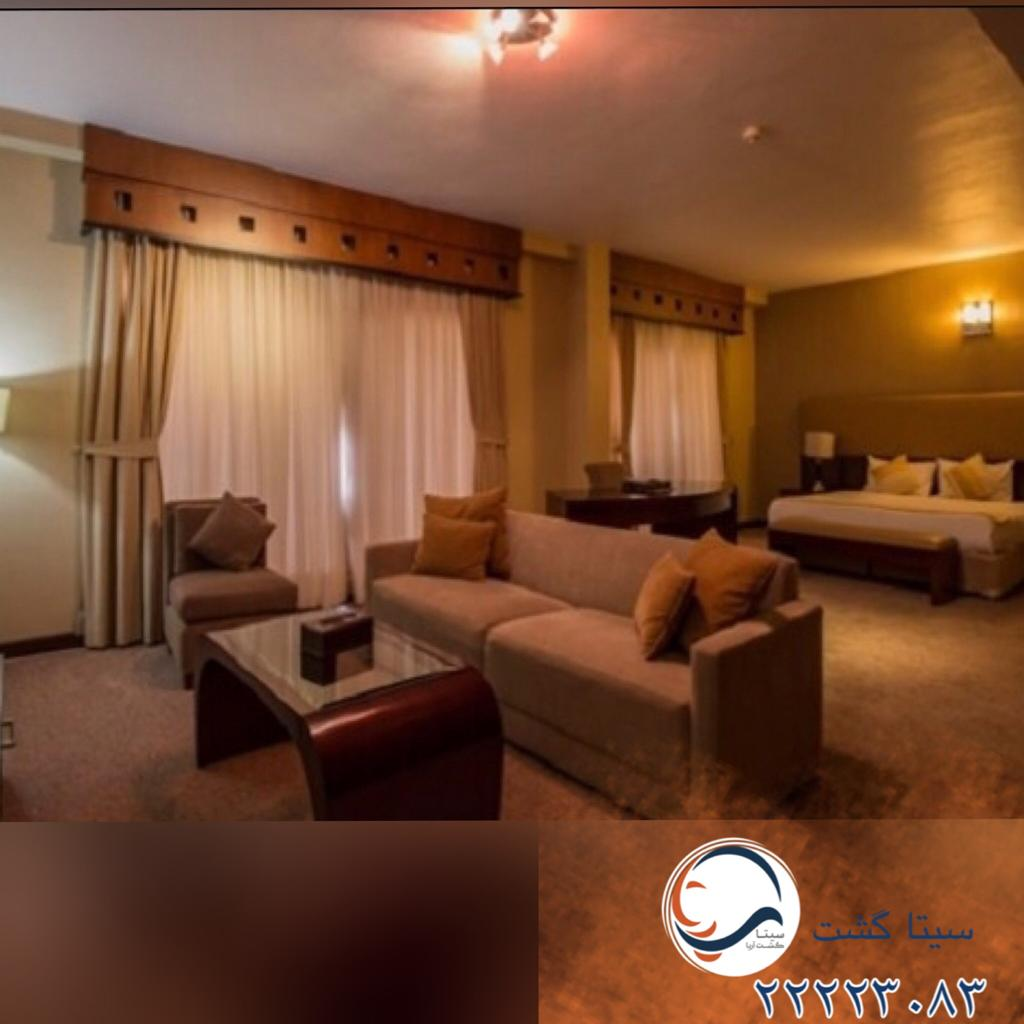 هتل مارینا کیش اتاق خواب