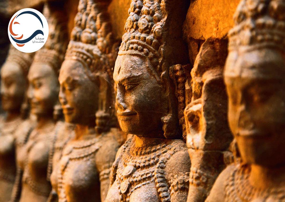 تور کامبوج-معبد شگفت انگیز سیم ریپ