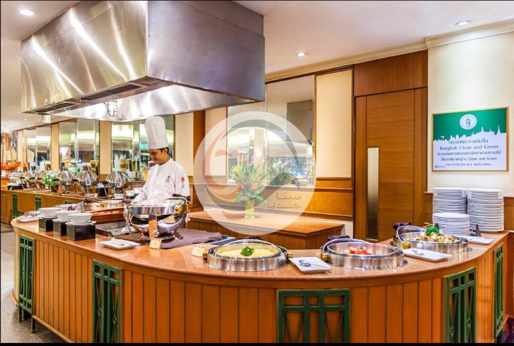 آژانس سیتا گشت هتل بانکوک پلاس رستوران سلف